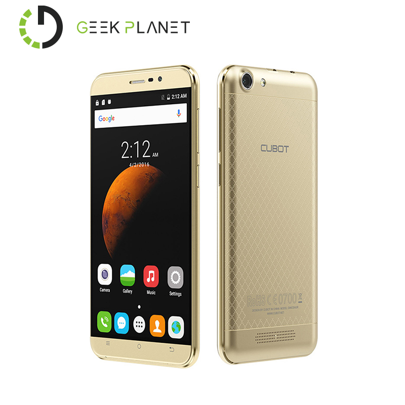 Stock In EU Cubot Dinosaur Mobile Phone MTK6735A 1 3GHz Quad Core 5 5 Inch Screen