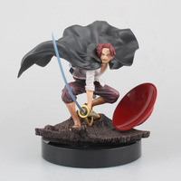 Anime One Piece SCultures The TAG Team Red Hair Akakami No Shankusu PVC Action Figure Kids Toys Collectible Model Doll 14CM