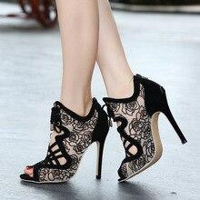 Frau Pumpt frauen schuhe high heels sapato feminino damen schuhe peep toe frauen messenger chaussure femme brautschuhe große