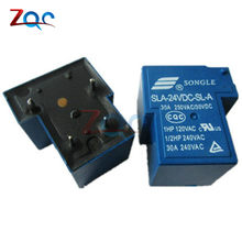 SLA-24VDC-SL-A SLA-24VDC 24 V 30A 4Pin T90 Power Relay(China)