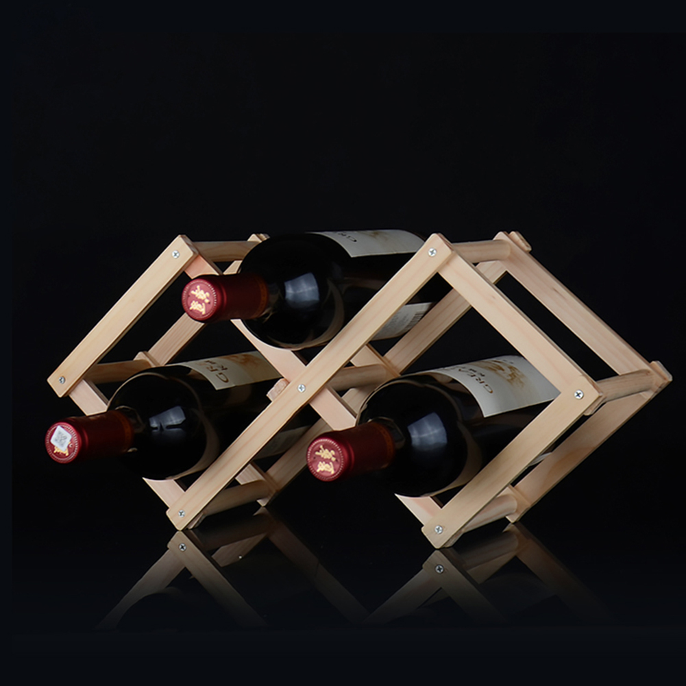 how to build a wine rack in a kitchen cabinet wooden wine rack for 3 bottles 9957