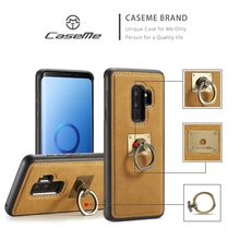 CaseMe sFor Samsung S9 Case Shockproof Metal Ring Holder Combo Case For Samsung Galaxy S9 Plus Cover For Galaxy s9 S 9(China)