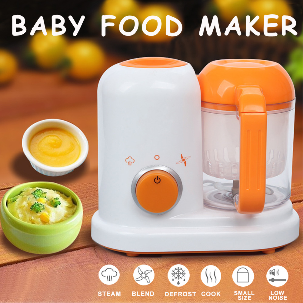 Baby Food Maker 4 in 1 Steam Cooker Blender Processor Baby Feeding Maker Organic Food Best for Toddlers and Infants  (1)