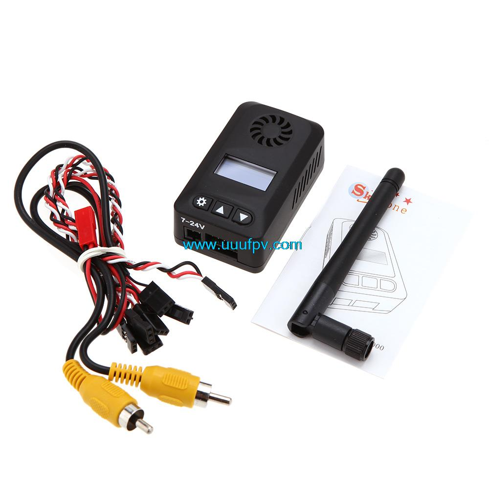 Skyzone N2000 5.8Ghz 32CH 2000mw 2w AV Transmitter with Digital Display OSD For 5.8G FPV