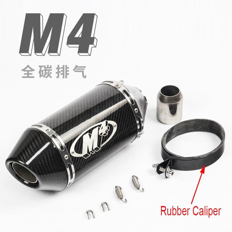 motorcycle carbon muffler pipe yoshimura exhuast 51mm escape moto de 250cc 500cc 600cc 750cc 800cc MT09/07 M4 Z750/800 R6 kinetics пилка для натуральных ногтей 180 180 white turtle
