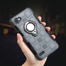 купить Luxury Metal Bracket Ring mobile Case Coque For LG Q6 a alpha Q6a Q 6 M700 Car Magnet Capa Cover For LG Q6 5.5 Q7 Q8 Etui Funda дешево