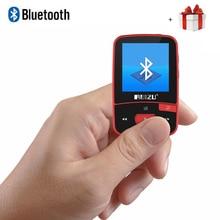 Nueva Llegada Original RUIZU X50 Deporte Bluetooth Reproductor de MP3 8 gb Mini Clip con Pantalla de la Ayuda FM, Grabación, e-libro, Reloj Podómetro