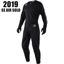 2019 SE AIR SOLO Motorcycle MX GEAR SET Black Moto Clothing hot Moto costume Dirt Bike Motocross Jersey And Pant(China)