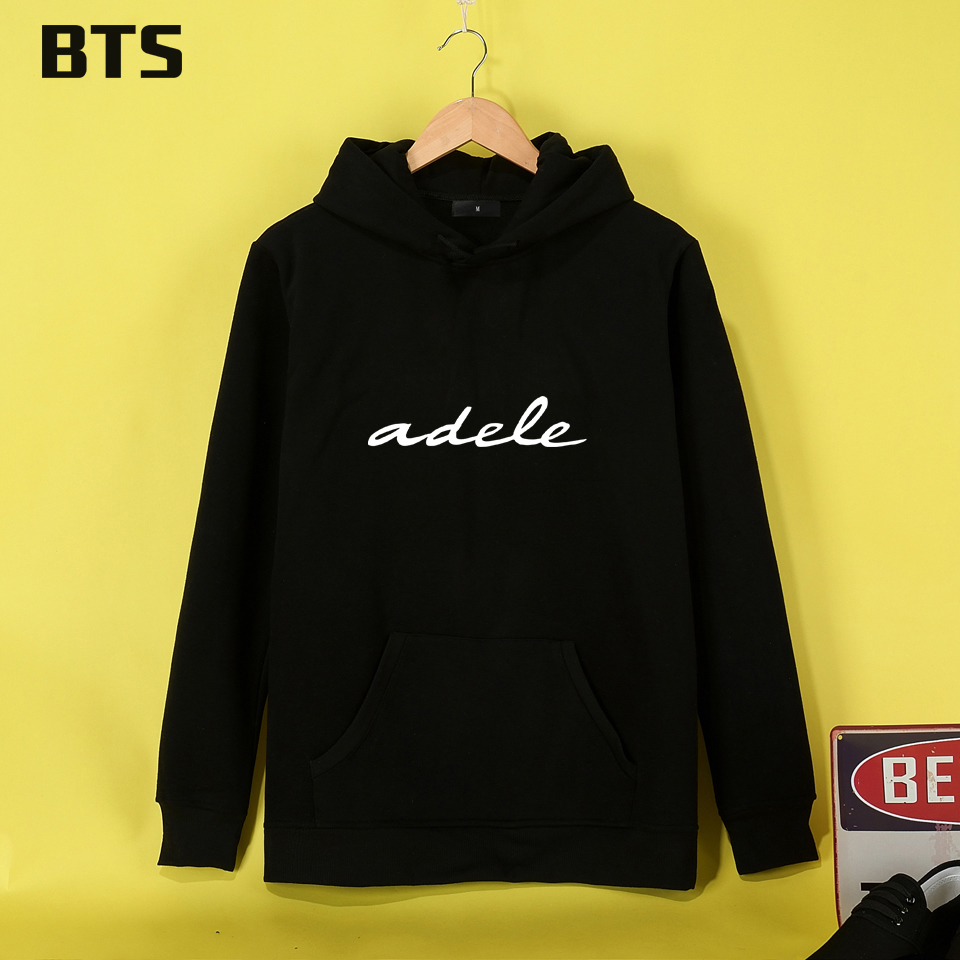 BTS Adele Hoodies Women Casual Female Loose Fashion Brand Sweatshirt Women Winter Girl High Quality Women Hoodies Sweatshirts