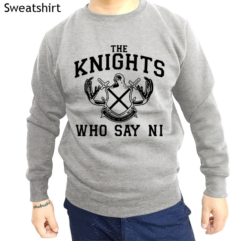 Knights That Say Ni Hoodies 100% Cotton Monty Python And The Holy Grail Shubuzhi Brand Mens Sweatshirt Fashion Hoodies Euro Size Goods Of Every Description Are Available Hoodies & Sweatshirts