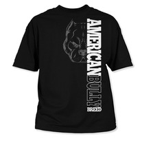 Short Sleeve Men T Shirt American Bully Breed Tops