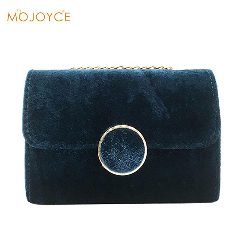 2018 Mini Crossbody Bags Luxury Women Handbags Purse Designer Brand Ladies Chain Velvet 4 Colors Flap Shoulder Messenger Bags