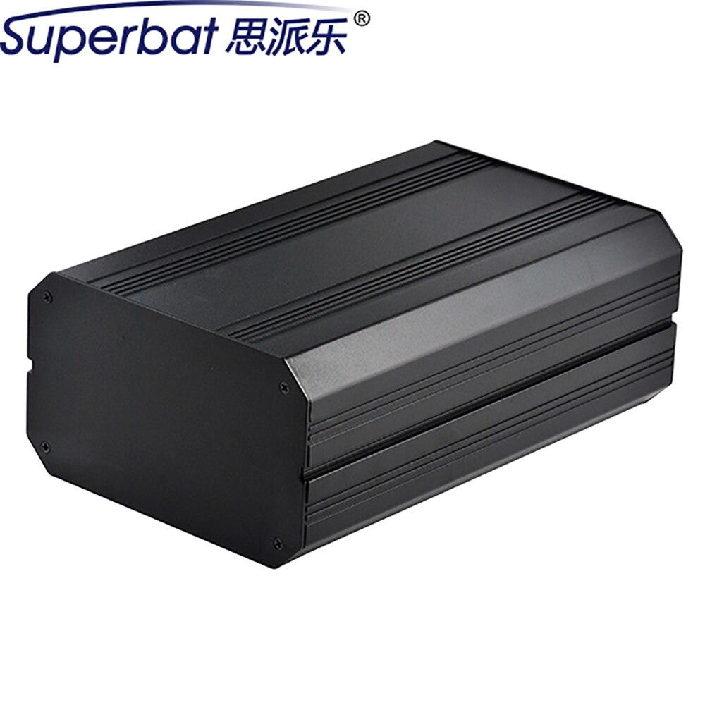 Superbat 6.30*3.70*9.84 Aluminum Box Amplifier Chassis HIFI Vacuum Tube Instrument Enclosure Electronics Case 160*94*250mm