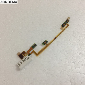 ZONBEMA Original New Power Volumn Audio Jack Flex Cable For iPod Nano 6 7 6th 7th Gen White Repair Parts Wholesale