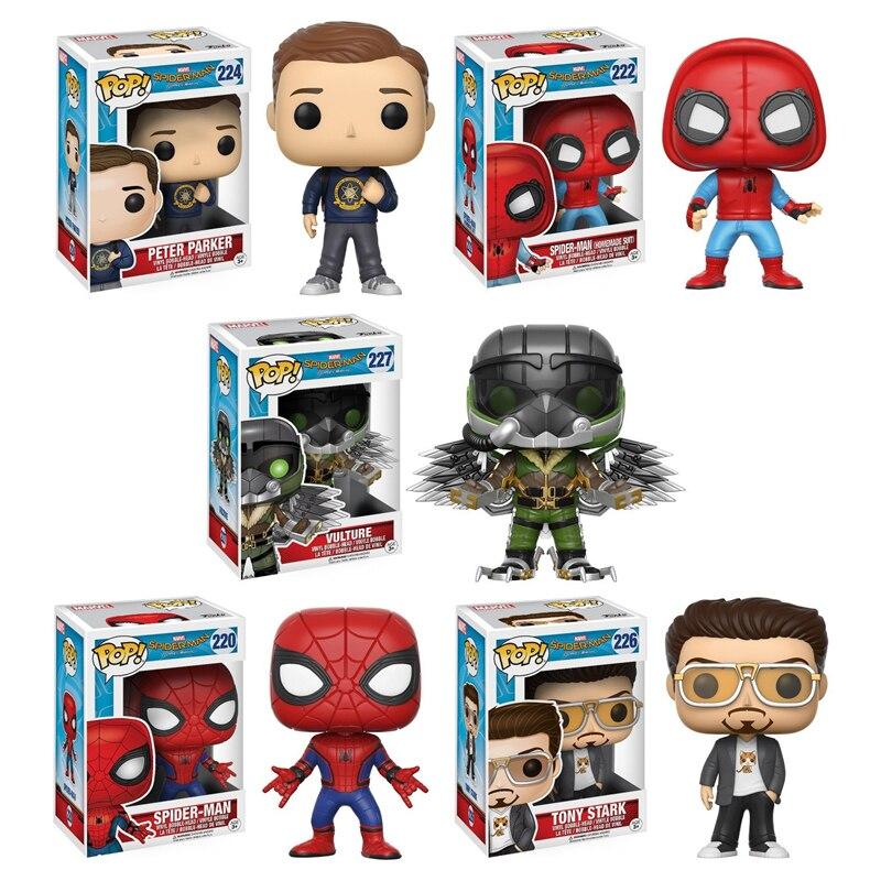 funko-pop-font-b-marvel-b-font-spider-man-homecoming-collectors-set-peter-parker-vulture-spider-man-proto-tony-stark-action-figures-toys