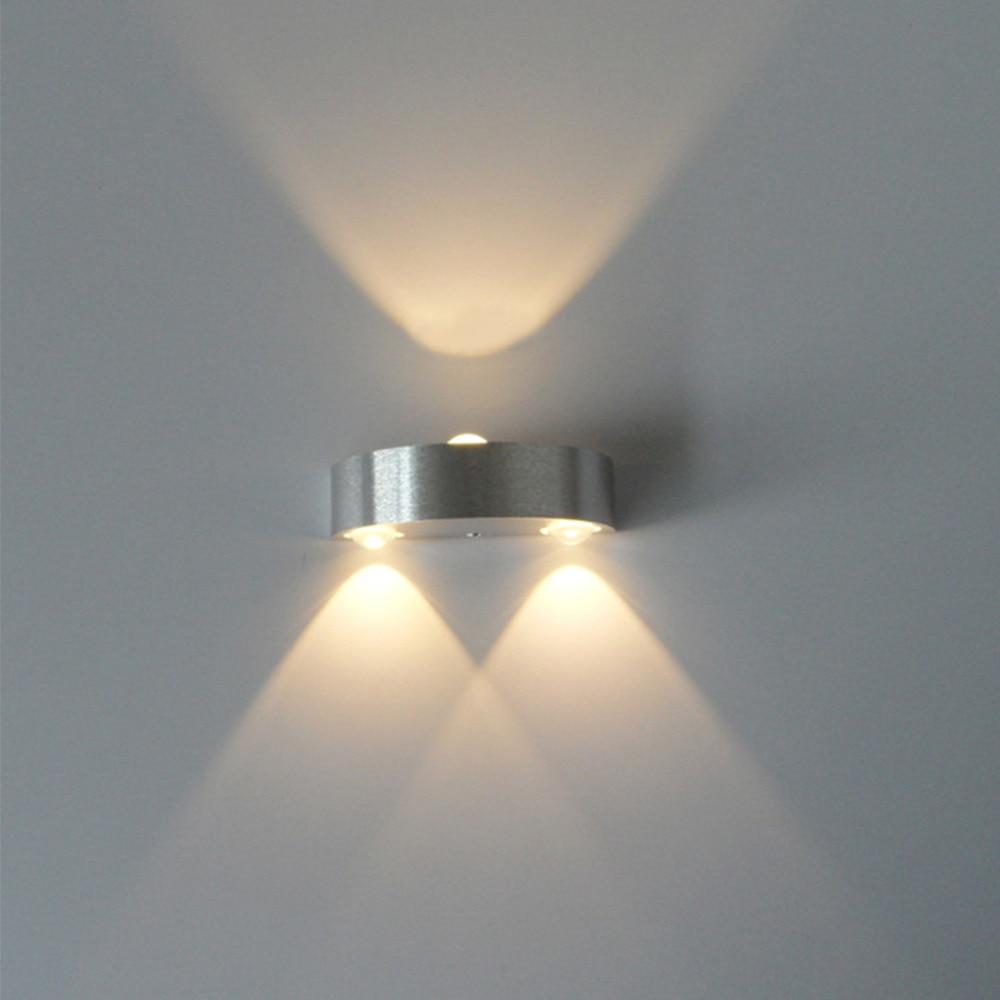 Aluminum Sconce LED Wall Light Fixtures Nordic Beside Wall Lamp Modern Dining Bar KTV Wandlamp Bathroom Mirror Lights Arandela LED Indoor Wall Lamps     - title=