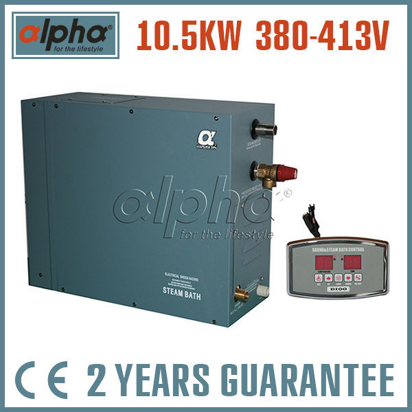 10.5KW380-415V 50HZCommercial/domestic use HOME SPA vapor Turkish steam generator factory directly sales CE certified