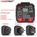 HT106B HT106D HT106E デジタルディスプレイソケットテスタープラグ極性相チェック検出電圧テスト多機能電器