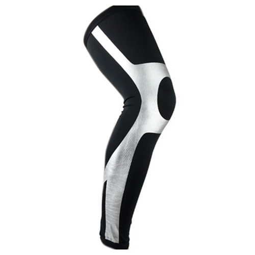 1PC Super Elastic Lycra Basketball Leg Warmers Calf Thigh Compression Sleeves Knee Brace Leg Knee Protector Gear