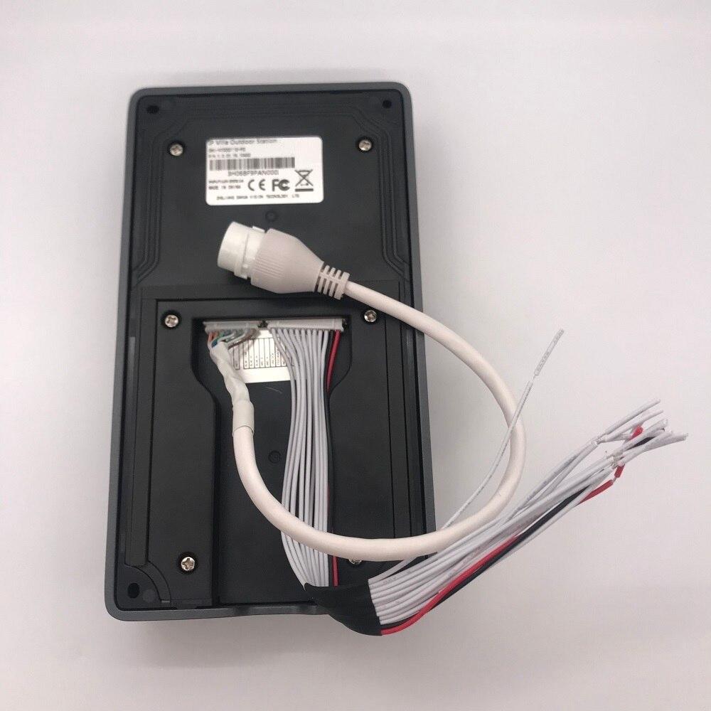 DH logo Multi-idioma VTO3211D-P2 2 botones PoE (802.3af) IP Metal Villa timbre, teléfono de la puerta, timbre, intercomunicador de vídeo IP, Nube - 3