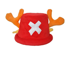 One Piece Cosplay Tony Chopper Hat Kids Cartoon Cap Beanies