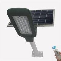 50 Вт уличный свет автоматический Управление для парки дорог квадраты IP65 солнечной энергии остров лампионе solare с дистанционным управлением