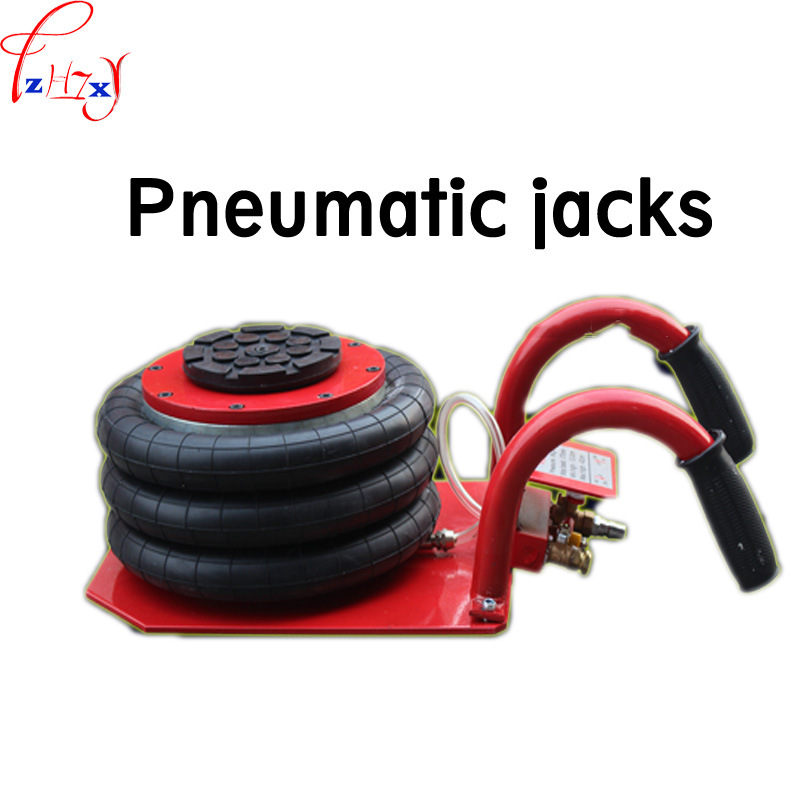 1pc LB-C Pneumatic jack 3T white air pressure auto jack instrument of vehicle maintenance and repair