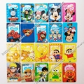 Cartoon Mickey And Minnie Capa Passaporte ID Card Holder PVC Leather 3D Design Business Card Bag Passport Cover 14*9.6CM