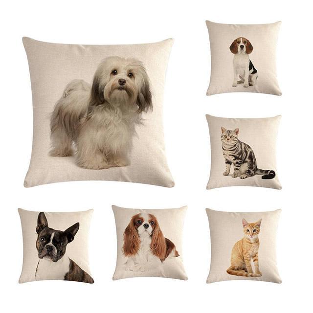 Di Vendita caldo Indossa Pug Cane di Animale Domestico Del Gatto di Casa Cuscino