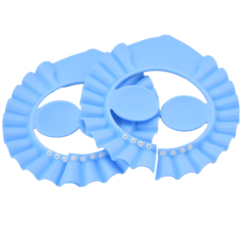 Free Shipping 1 Pc Baby Care Bath Protection Safety Shampoo Cap With Ears Protection