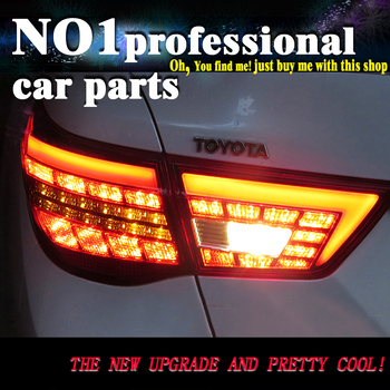 car accessories Taillights for Toyota Reiz Mark X LEDTail Lights 2010-2013 Mark X LED Tail Light Rear Lamp DRL+Brake+Park