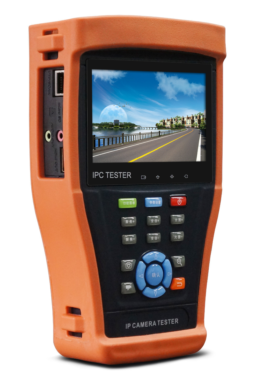 4 3 Inch Ip Camera Tester Cctv Tester Monitor Analog Ip Hd