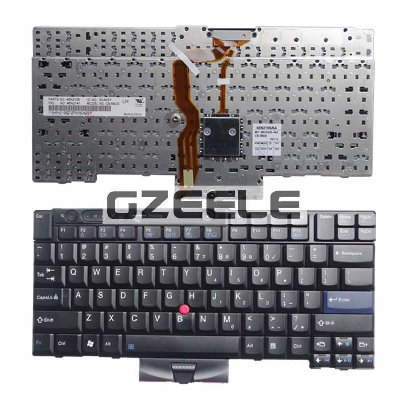 NEW laptop keyboard FOR LENOVO Thinkpad T420 X220 T510 T510i T520 T520i W510 W520 Series Laptop Keyboard US Layout
