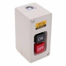 1 шт. 3.7Kw 30A мощность вкл./ВЫКЛ. Кнопочный переключатель TBSP-330 3 фазы для текстильного оборудования
