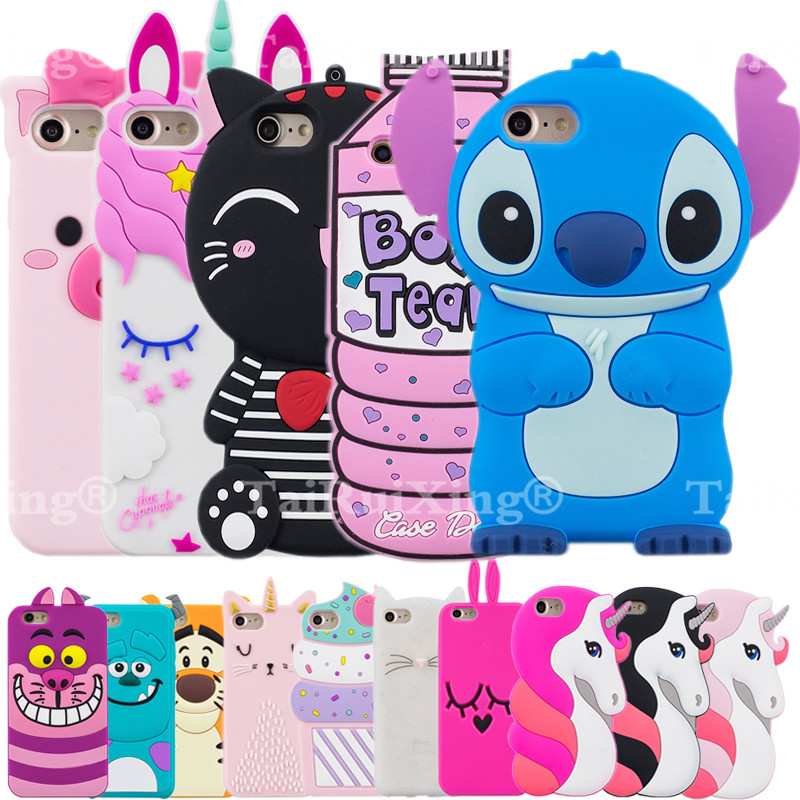 "3D Cartoon Stitch Unicorn Phone Silicone soft Case Cover For LG StyLo 3 STYLUS 3 MP450 M470 K10 Pro 5.7"" Cases Gel Shell"