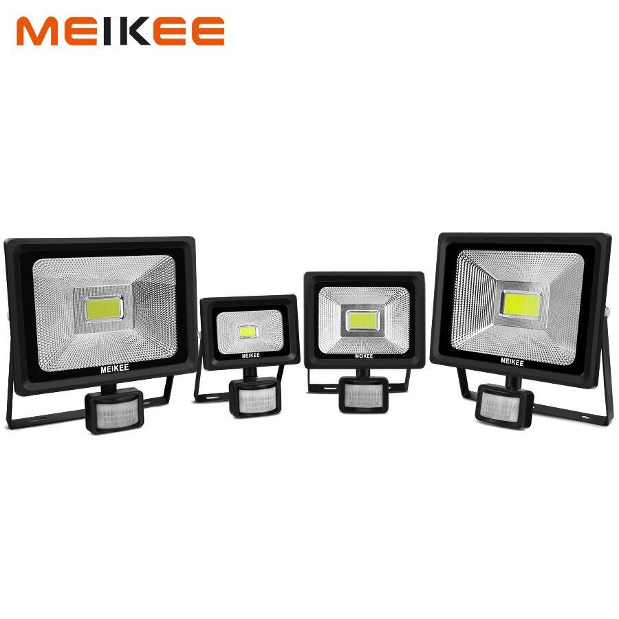 10 W/20 W/30 W/50 W LED Flutlicht Motion Sensor Sicherheit Licht Wasserdichte IP66 FÜHRTE PIR Flutlicht Outdoor Scheinwerfer Halogen Licht