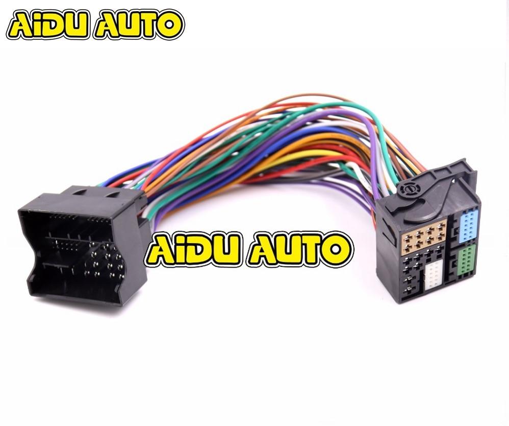 Quadlock Most Plug Extension for Audi A2 A3 A4 A6 A8 Tt Q7 Radio Adapter