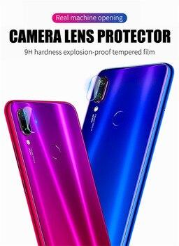 100pcs Back Camera Lens Tempered Glass for Xiaomi Mi 8 9 SE A2 Lite 6X 9T Redmi Note 7 5 6 Pro K20 Pocophone F1 Protector Film