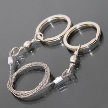 цена на Climbing Equipment Survival Travel Kit , Hiking Gear Scroll For Camping Chain Saws,Outdoor Survival Steel Wire Saw