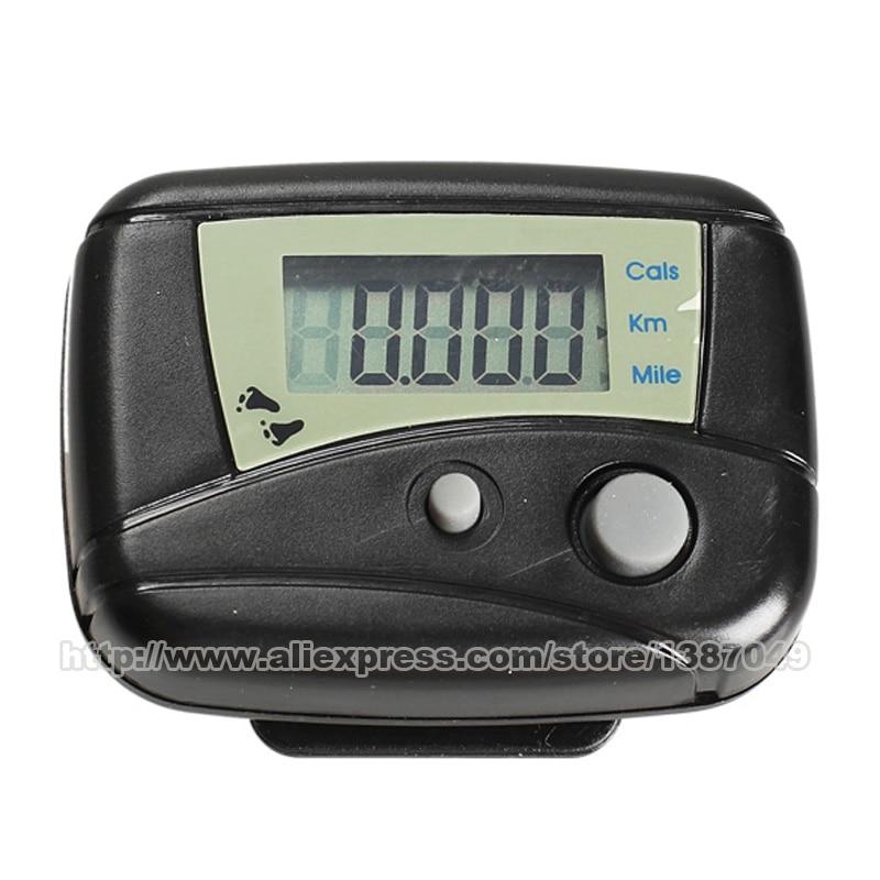 Sport & Unterhaltung Gut Digital Lcd Run Schritt-pedometer Walking Distance Kalorien Zähler Passometer Walking/jogging Erkennung Schwarz Angenehm Im Nachgeschmack