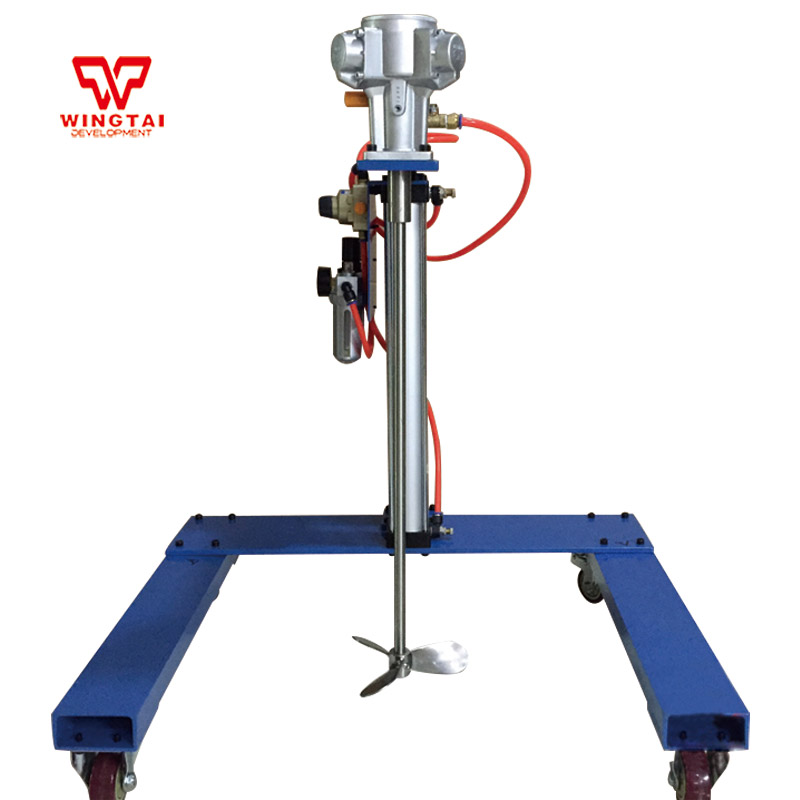 US $1050 0 |800U 170L Capacity 0 900 RPM Air Operated Drum Mixer Automatic  Pneumatic Paint Agitator-in Pneumatic Parts from Home Improvement on