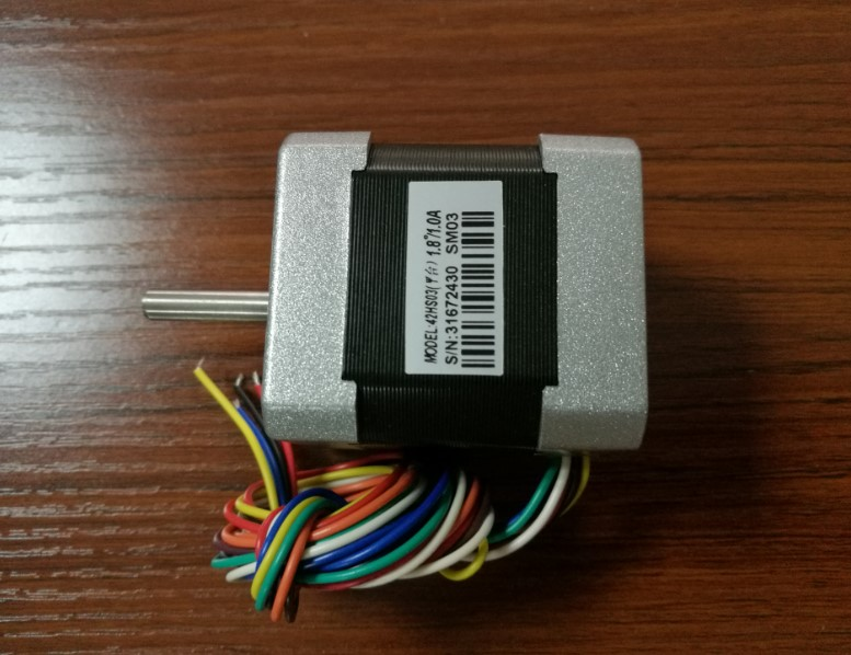 New Leadshine 2-phase hybrid stepper motor  42HS03 NEMA 17 size 8 motor leads /Current /phase 1A /Holding Torque 0.34N CNC Motor periche корректор цвета out colors personal phase 1 phase 2 2 х 150 мл