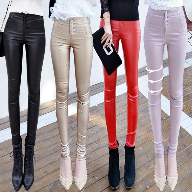 new pants women high waist skinny casual pencil Slim Leggings
