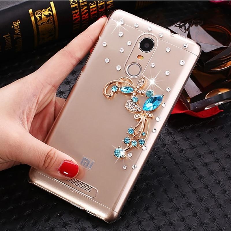 timeless design 04645 4966b US $4.0 20% OFF|For Xiaomi Redmi Note 3 High quality PC Hard Rhinestone  Case for Xiaomi redmi note 3 pro prime 5.5