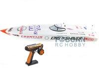 G26IP1 ARTR-RC Fiber De Verre 26CC Essence Course Vitesse RC Bateau W/Hélice/système De Refroidissement D'eau/Radio Système blanc