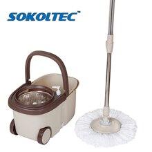 Szybka wysyłka Mop z kołem Spin Noozle myjnia podłogowa czyszczenie domu Mop głowy do czyszczenia podłogi okna sprzątanie domu miotła