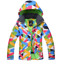 HOT!2018 New Gsou Snow Brand Womens Winter Skiing Jackets waterproof snowboard jackets Colorful Top Quality ski suits