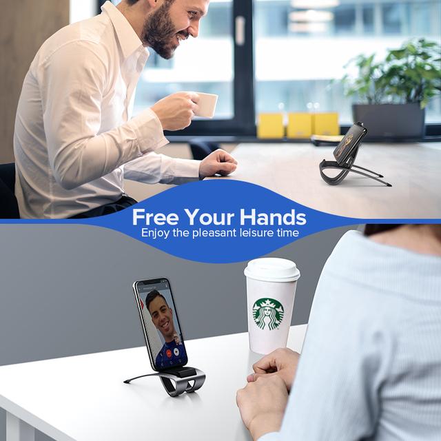 Metal Desk Stand Holder for Phones