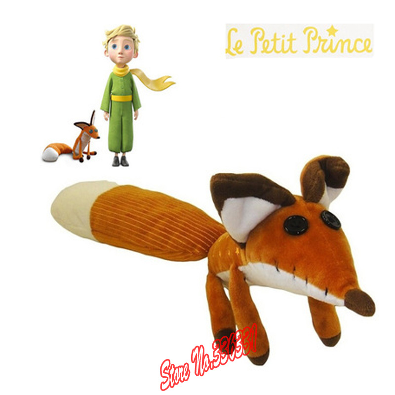 Hot Sell 1pcs The Little Prince Plush Dolls ,50cm The Little Prince The Fox Stuffed Animals Plush Education Toys For Baby