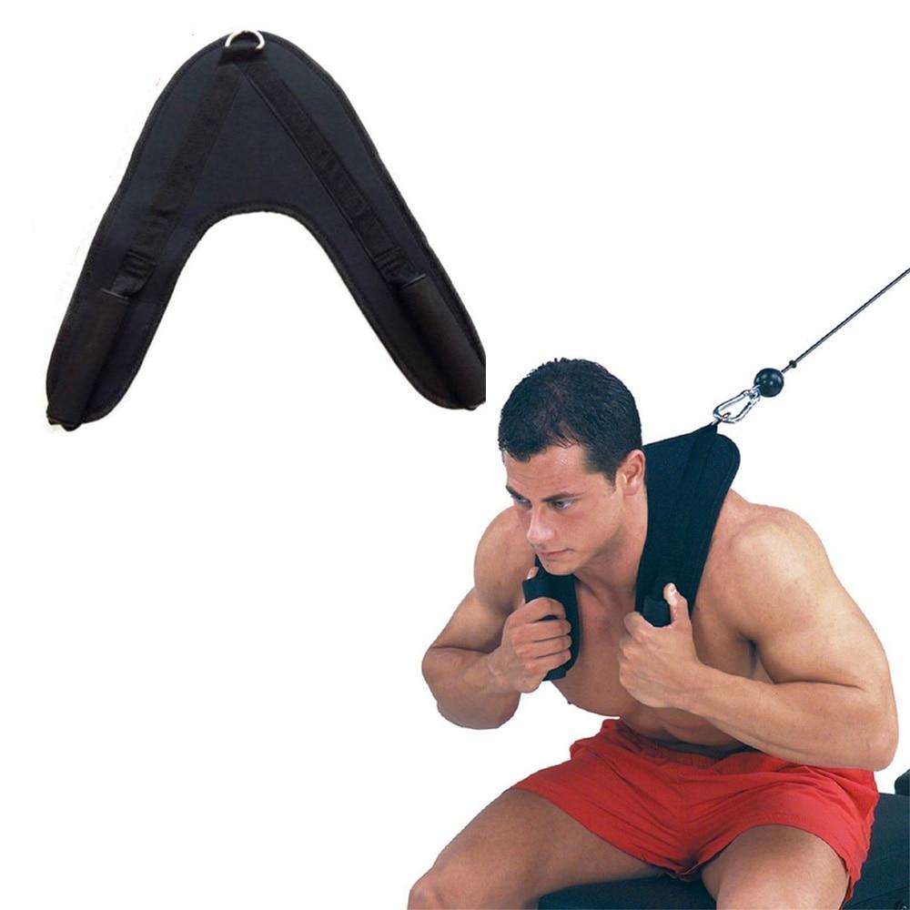 Fitness, Running & Yoga Fitness Abdominal Crunch Straps Ab Exercise Pulling Harness Shoulder Strap Belt Abdominal Exercisers
